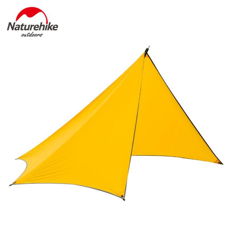 Naturehike 426*255cm Outdoor Awnings Tent Tarp Waterproof SunShade Beach Ultralight Fishing Pergola Camping Canopy Sun Shelter stepreach blue 41 255cm