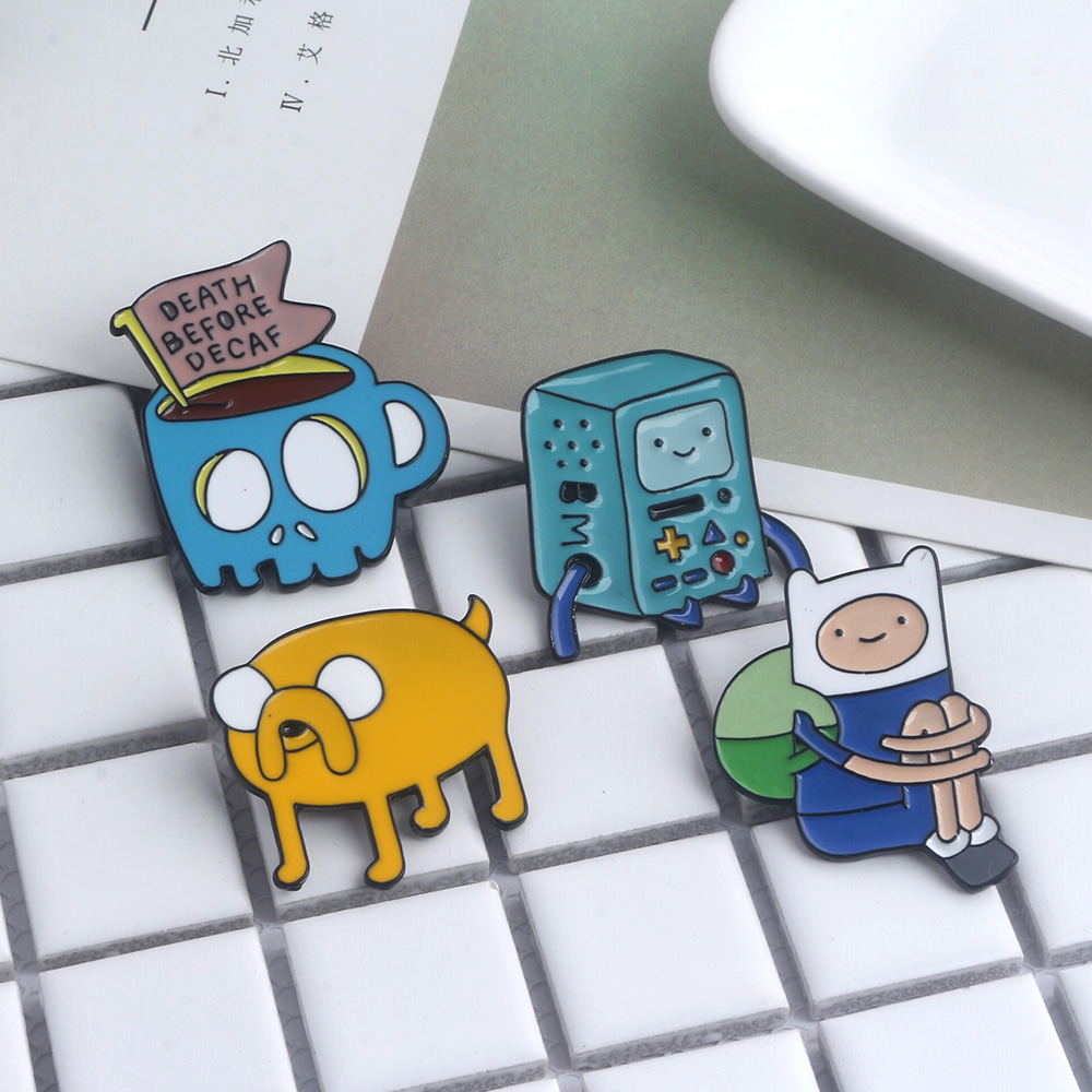 Anime Adventure Time Pictures hot anime adventure time finn and jake the dog brooches 4
