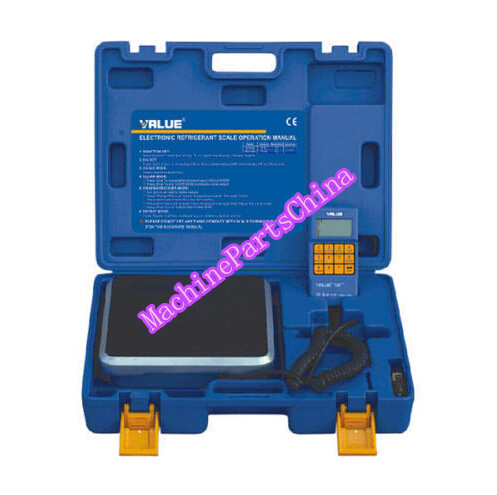 VALUE 100KG REFRIGERANT RECOVERY DIGITAL CHARGING / CHARGE SCALE VES-100A  цены