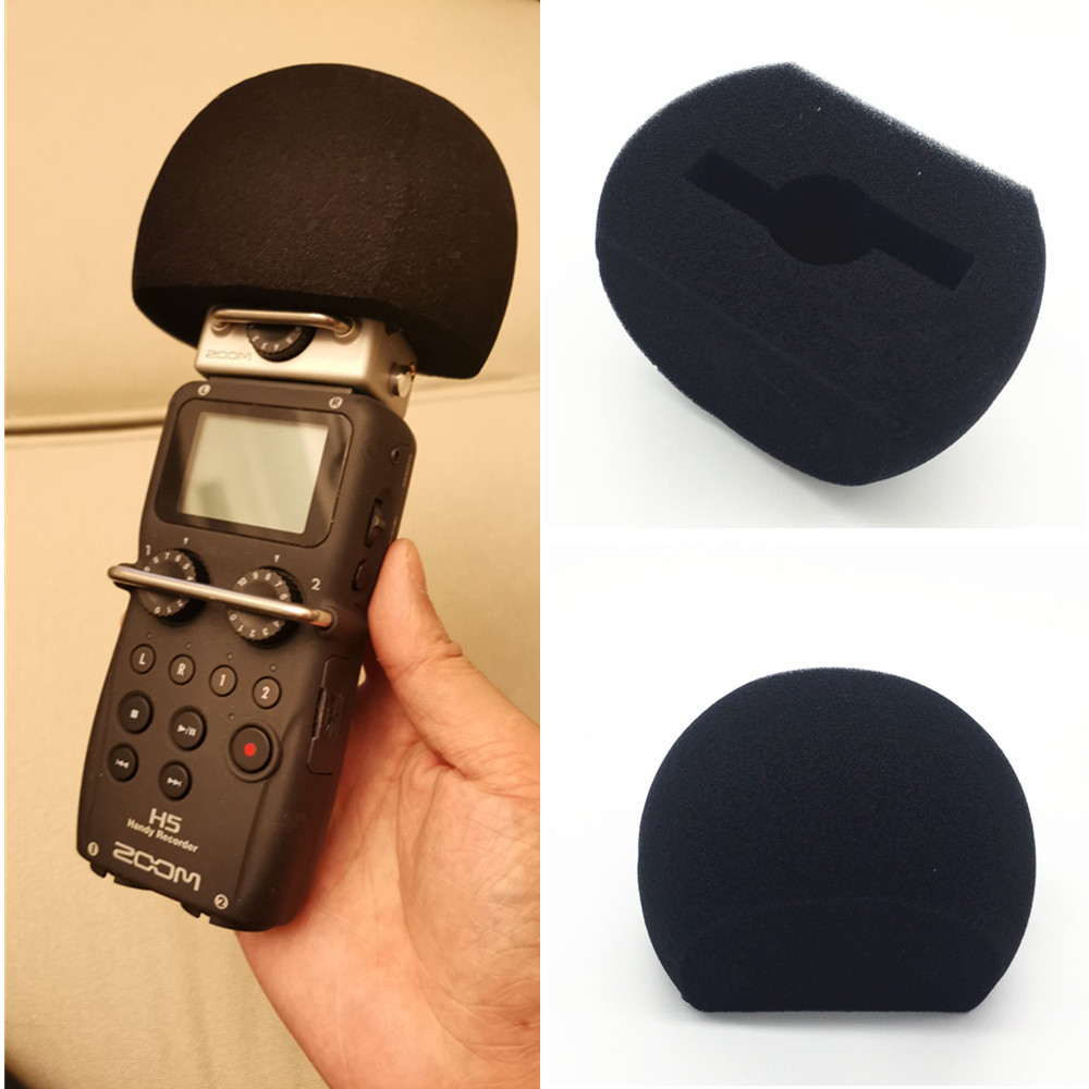 Windscreen Microphone Foam Sponge Cover Pop Filter For ZOOM H5 H6 XYH-6 Recording Pen Handy Recorder Mic Microfone Windshield