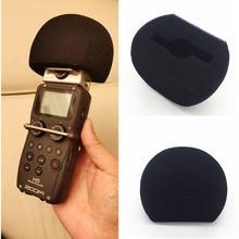 Пенка для микрофона защитная губка поп фильтр zoom h5 h6 ручка
