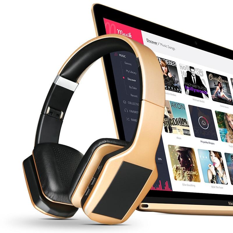 Multifunkcionális S650 sztereó Bluetooth 4.1 + EDR fejhallgató - Hordozható audió és videó