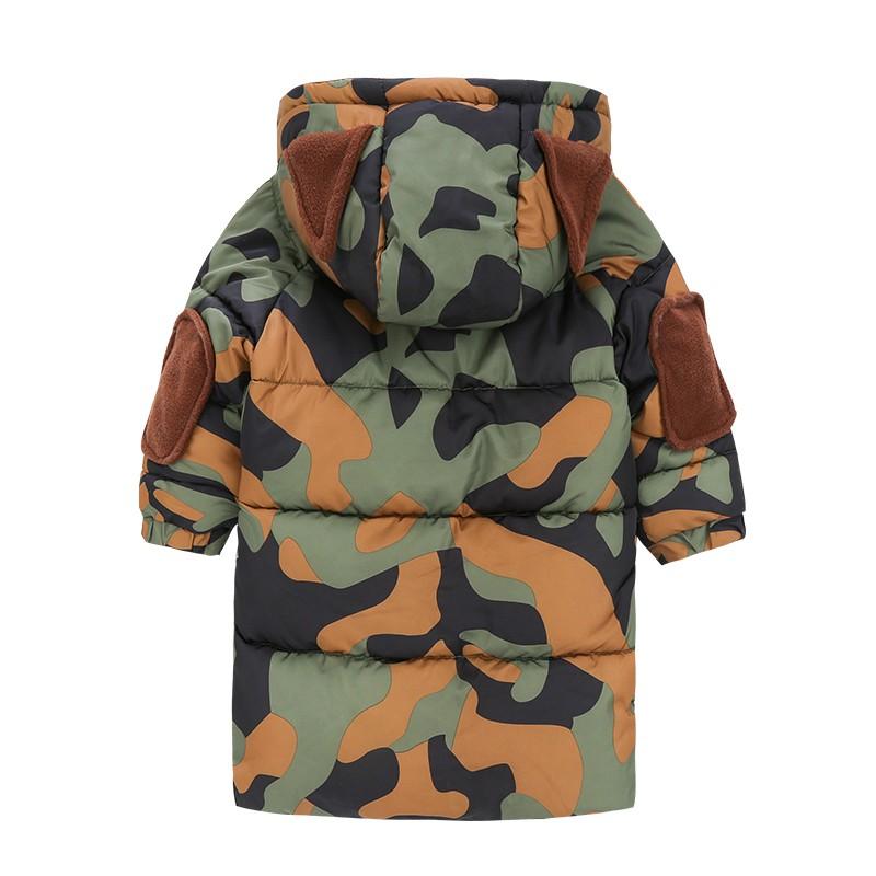 CROAL CHERIE 80-120cm Children`s Winter Jackets For Teenage Girls Warm Winter Parkas For Boys Camouflage Infant Overcoat (4)