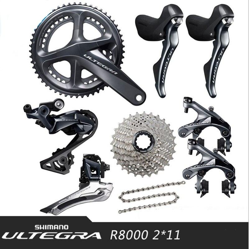 SHIMANO ULTEGRA UT R8000 2x11 22 s Скорость шоссейные велосипеды передачи комплект велосипед аксессуары комплект велосипедов Запчасти комплект передачи