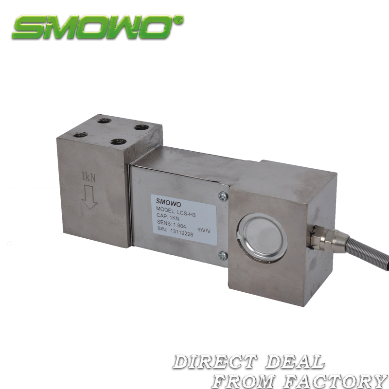 Load cell sensor LCS-H3 (50/100/200/300/500/700/1000kg) 5 10 20 30 50 100 200 300 500 1000 2000 3000 kg 1 2 3 ton micro load cell button small compression weight sensor