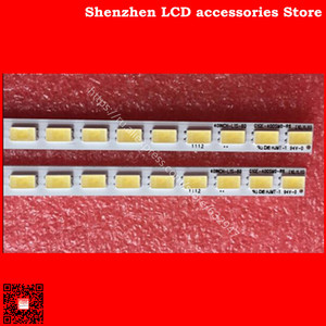 Image 2 - 2pieces/lot is new100%    L40F3200B 40 DOWN LJ64 03029A LTA400HM13 backlight 1piece=60LED 455MM 100%NEW