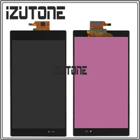 6 44 Inch Black For SONY Xperia Z Ultra XL39h XL39 C6833 LCD Screen Display With