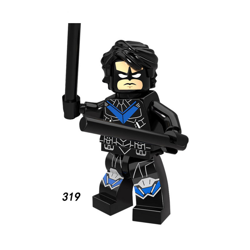 Strong-Willed Single Sale Super Heroes Star Wars 319 Robin Nightwing Model Mini Building Block Figure Brick Toy Gift Compatible Legoed Ninjaed To Suit The PeopleS Convenience Toys & Hobbies