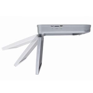 Image 5 - DVD плеер 15,6 дюймов FHD 1080P Автомобильный Монитор крыша с HDMI портом/USB/SD встроенный ИК/FM передатчик откидной потолочный ТВ для автомобиля
