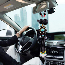 купить Car Pendant Ornaments Auspicious Gourd Car Interior Decoration Rearview Mirror Hanging Car Pendant Auto Accessories Lucky Gifts по цене 485.23 рублей