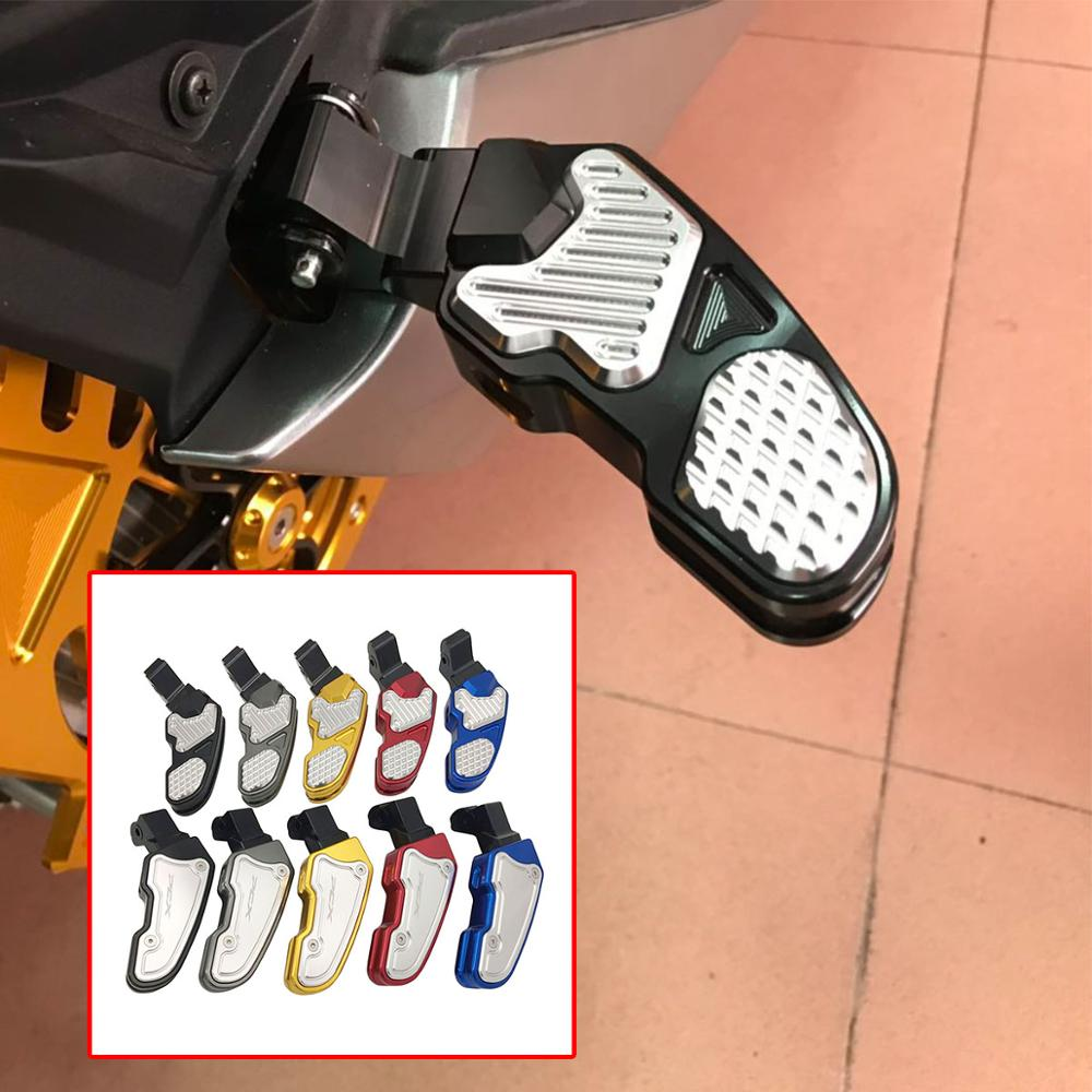New 2019 For Honda PCX 125 150 2018 2019 Pcx-125 Pcx-150 Pcx125 Pcx150 Motorcycle Footrest Pedal Rear Footboard Steps Foot Plate