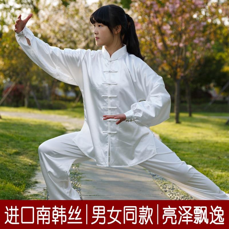 Spring Summer Linen Martial Art Taoist Tai Chi Uniform For Women Men Shaolin Kung Fu Clothing Outfits Shirts Pants