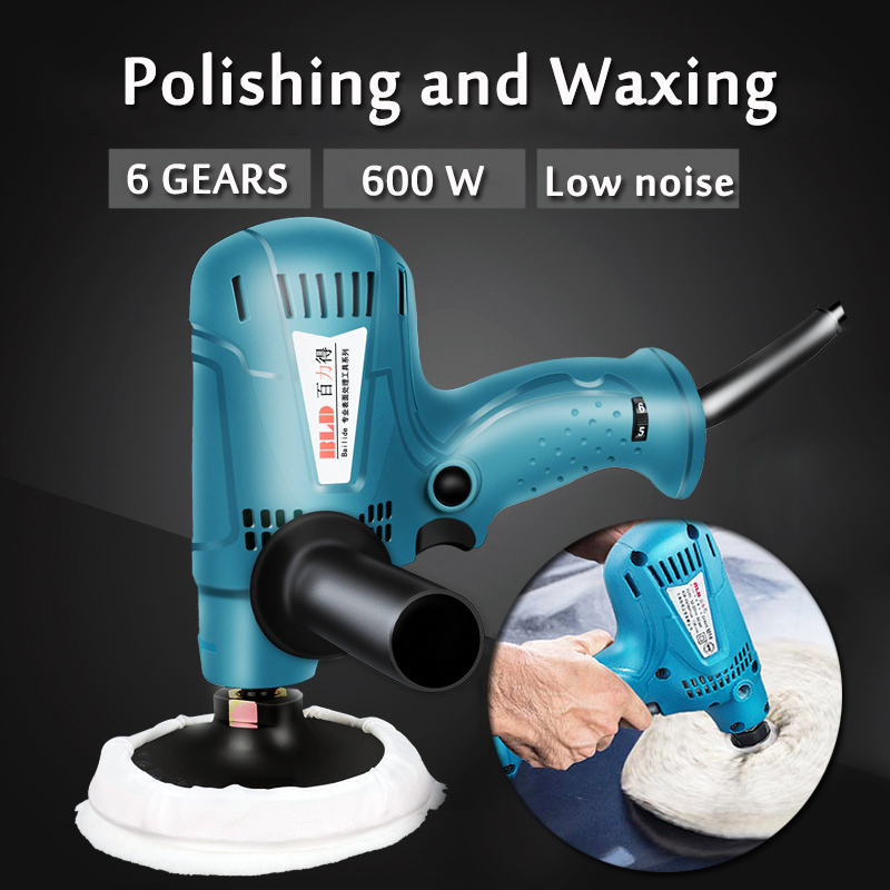 цена на New 220V Car Electric Polishing waxing machine Adjustable-Speed Furniture Porcelain Polisher Cleaner six Speed control Function