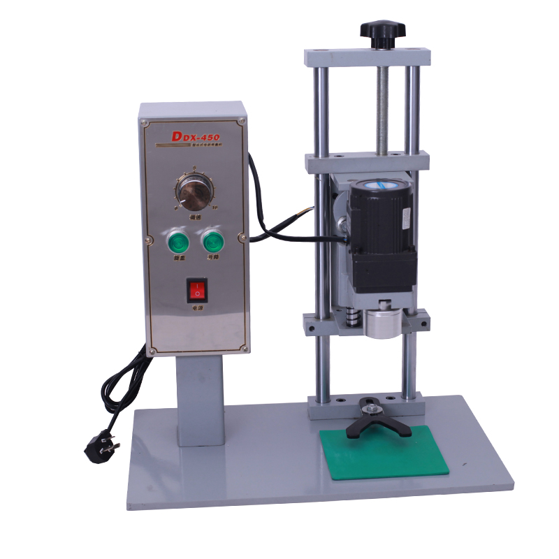 Desktop Automatic Bottle Capping Machine Diameter 10-50mm Capping Screwing Machine Electric Cap Locking DDX-450 2016 manual plastic bottle capping sealing machine handheld cap screwing machine 10 50mm free ship