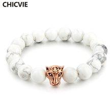 Chicvie ручной работы белые с леопардовой головкой очаровательные