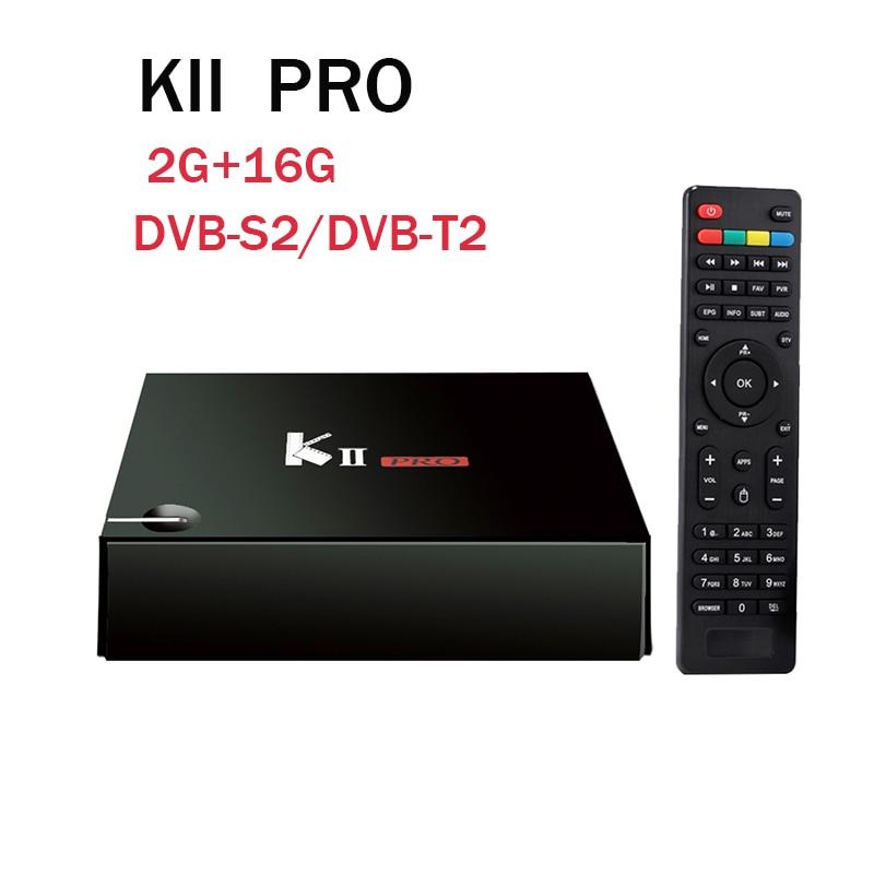 KII Pro DVB S2 DVB T2 TV Box Android 5 1 2G 16G Amlogic S905 Quad