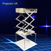 70cm Projector bracket motorized electric lift scissors with Remote Electric Ceiling Mount Bracket For Cinema Church Hall School