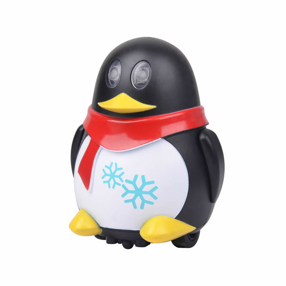 777-630 Electric Robot Toys Inductive Car Line Follower Diecast Toy Magic Pen Toy Cartoon Robot penguin Follow Any Line You Draw