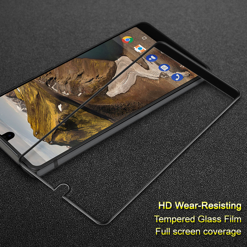 Essential Phone PH-1 Screen Protector iMAK Anti-Explosion Full Tempered Glass Protective Film For Essential PH-1 Glass Film
