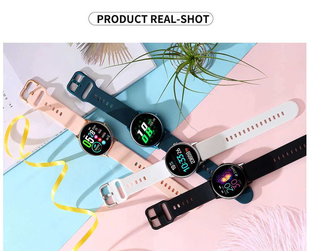 Women IP68 Waterproof Smart Watch for iPhone xiaomi LG with Bluetooth and Heart Rate Monitor Fitness Tracker 24