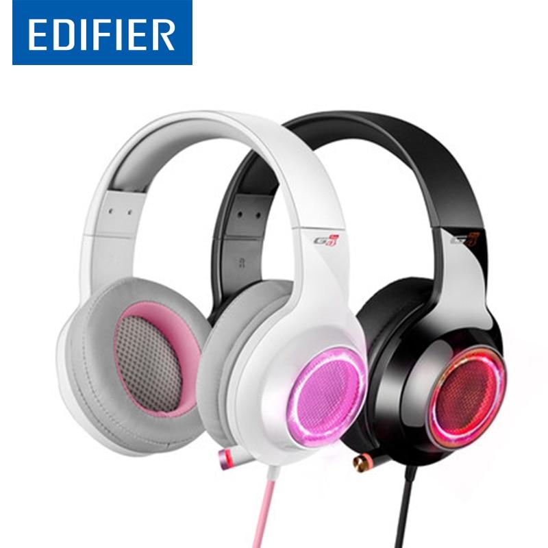 EDIFIER G4 PRO Gaming Headphone Virtual 7 1 Surround Sound Magic Voice Function 17 million RGB