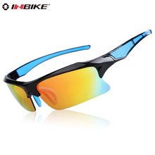 INBIKE Polarized Cycling Glasses Bicycle Racing Driving Sunglasses Men Outdoor Sports Eyewear Bike Glasses Goggles IG758