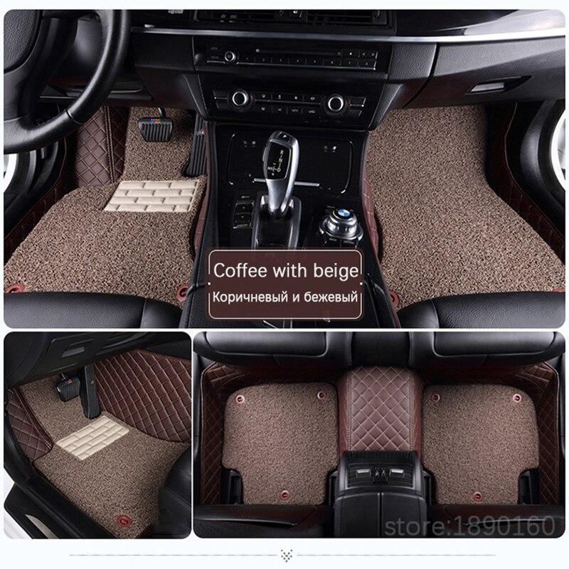 Alfombrillas personalizadas para BYD F0 F3 F3R G3R L3 F6 G6S6 E6 E6 - Accesorios de interior de coche - foto 2