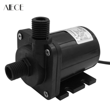 AIEOE DC 24V 600L/H 7m Micro Submersible Water Pump Electric Magnetic Powerful Self-protection Brushless Aquarium