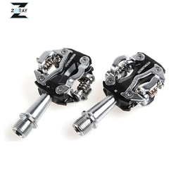 Zeray mtb mountain bike self locking pedals cycling clipless pedals aluminum alloy spd cr mo pedals.jpg 250x250