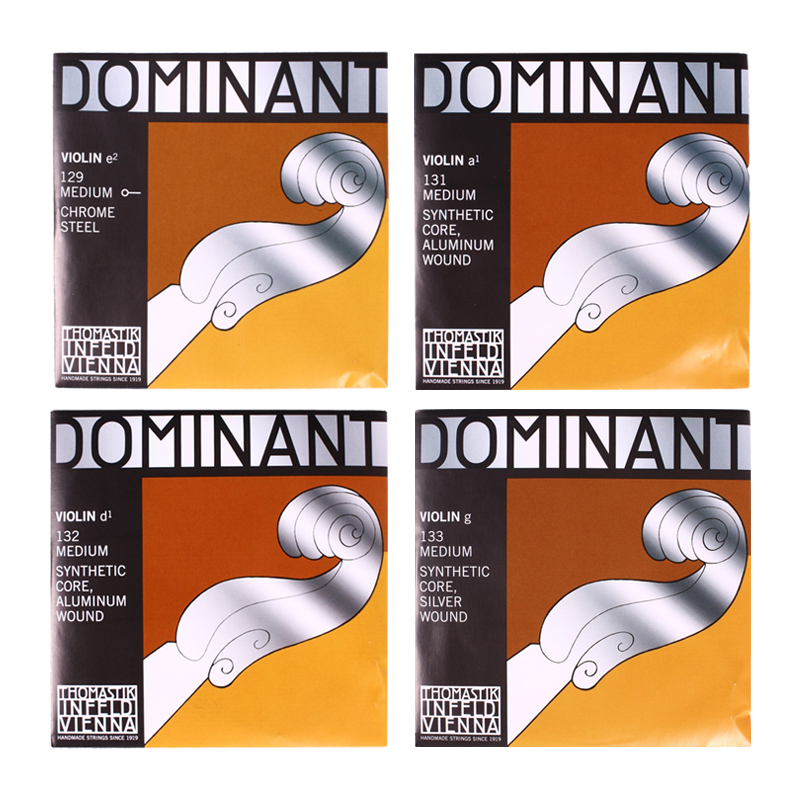 Thomastik Dominant 135B Medium Violin Strings 4/4 Strings Full Set G D A E Strings