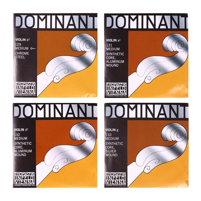 Thomastik Dominant 135B Medium Violin Strings 4/4 Strings Full Set G D A E Strings