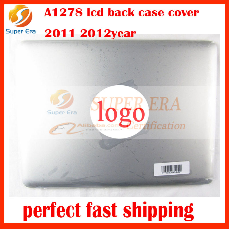 NEW perfect display screen back case for macbook pro 13.3inch A1278 lcd back case cover MC700 MD313 original 2011 2012year original a1706 a1708 lcd back cover for macbook pro13 2016 a1706 a1708 laptop replacement