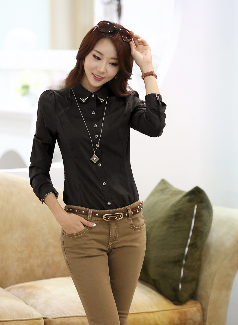 blouse top Picture - More Detailed Picture about 2014 New Fashion ...