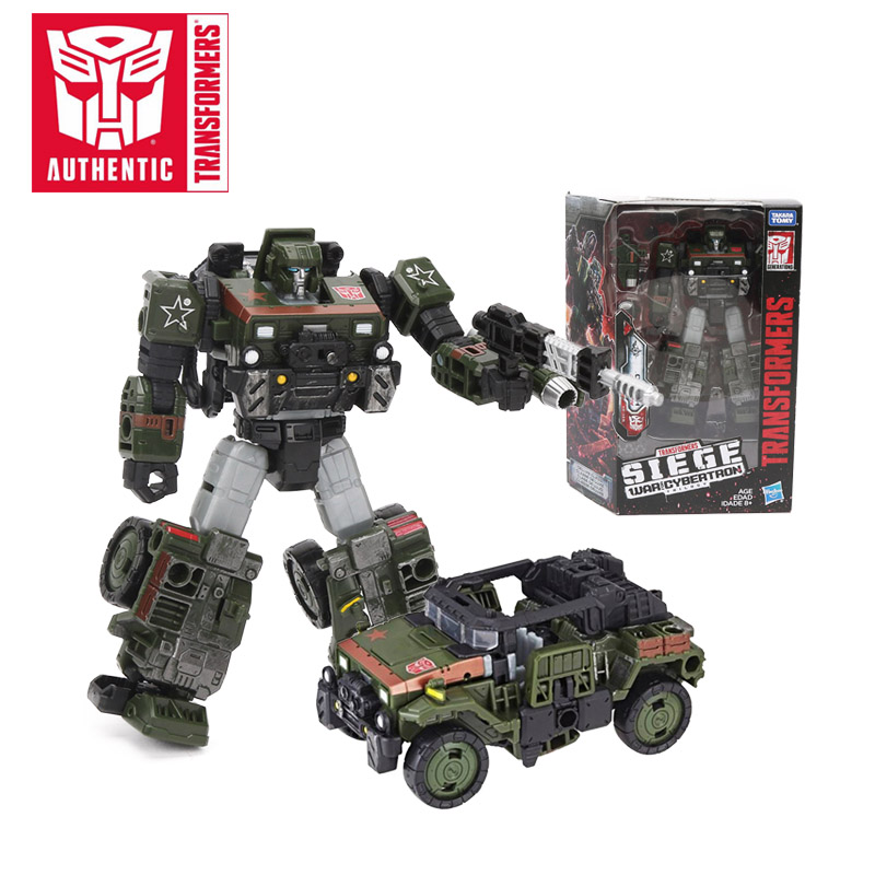 16CM Transformers Toys Generations War for Cybertron Siege Deluxe Class WFC S9 Autobot Hound Megatron PVC