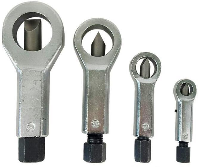 9-27MM Sliding Tooth Nut Remove Break Manually Metal Nut Break Manual Pressure Tools Nut Splitter Cracker Remover