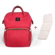 Upgrate LAND Diaper Bag Mummy Maternity Nappy Bag Brand Large Capacity Baby Bag Travel Backpack Nursing Bag Baby Care/