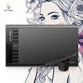 XP-Caneta Estrela 03 Digital Tablet Gráfico Desenho Tablet Com Bateria-free Caneta Passiva