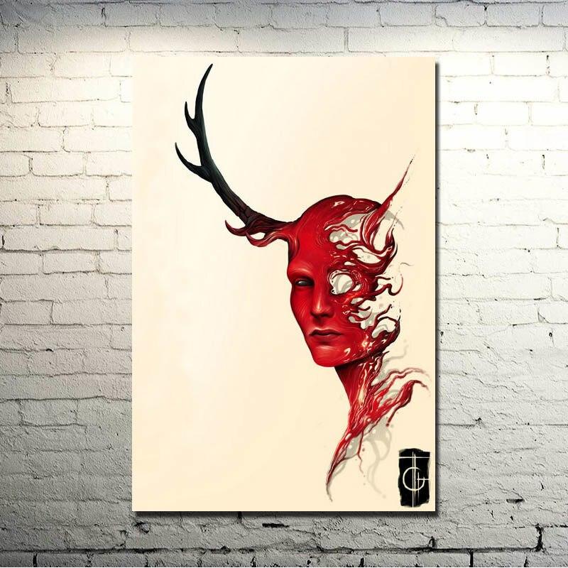 Hannibal Season 3 TV Series Art Silk Fabric Poster Print 13x20 inches 007