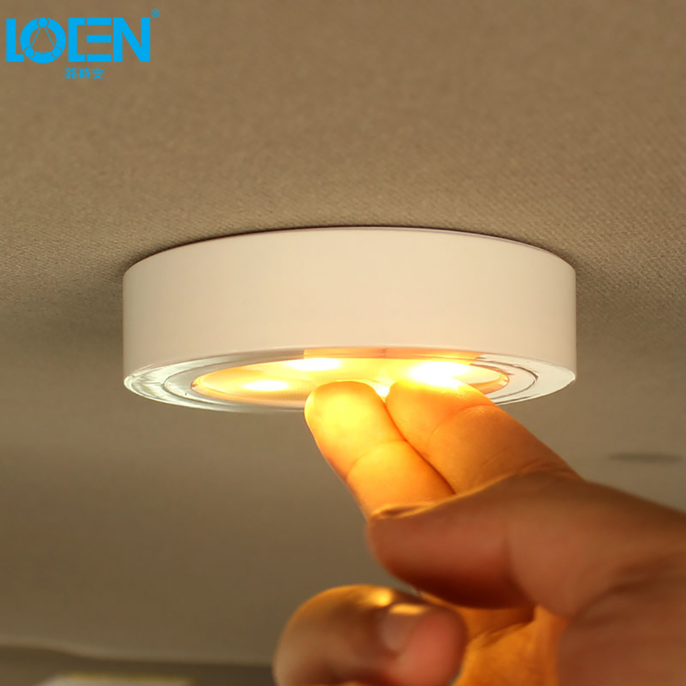 Car Led Light Interior Wireless Charging Easy Installation