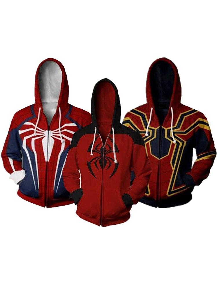 Venom Spider-Man Sweatshirt Hoodies Kids Girls Boys Tops Jumpers  Age 4-13 Years