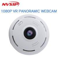 360 Degree Waterproof VR Panorama Mini P2P Home Security IP Camera IR Night Vision 1080P HD