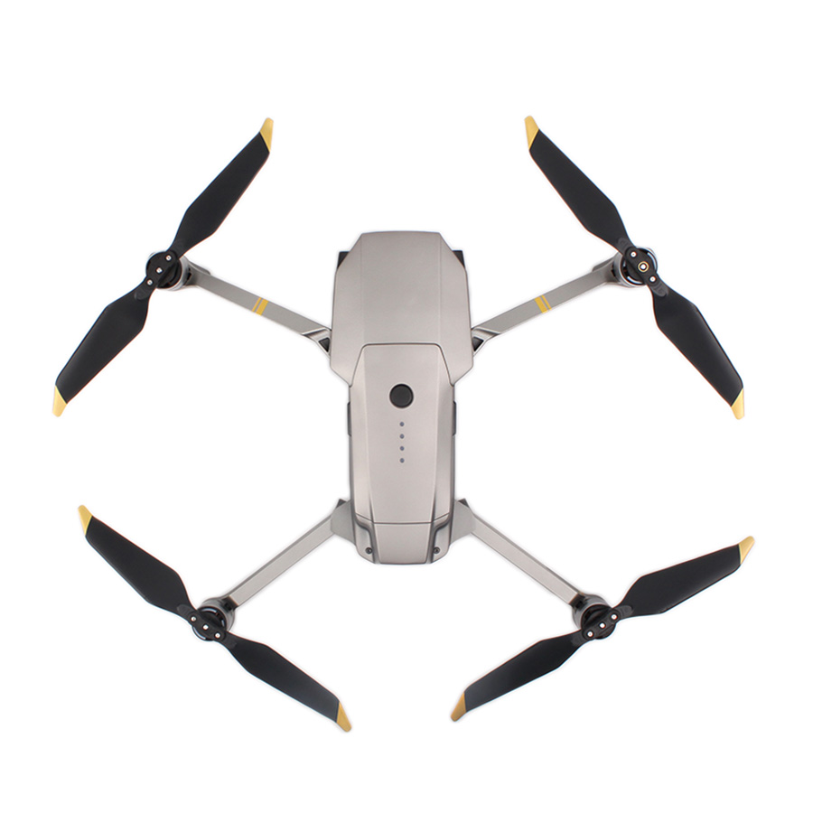 4 Pairs 8PC For Mavic Pro Platinum 8331 Low Noise Quick-Release Propellers ( Golden/Silver ) for dji Mavic Pro Accessories