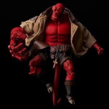 2019 nuevo Hellboy PVC figura de acción PVC modelo regalos coleccionables juguetes superhéroe mil valor entrenamiento Hell Boy de alta calidad