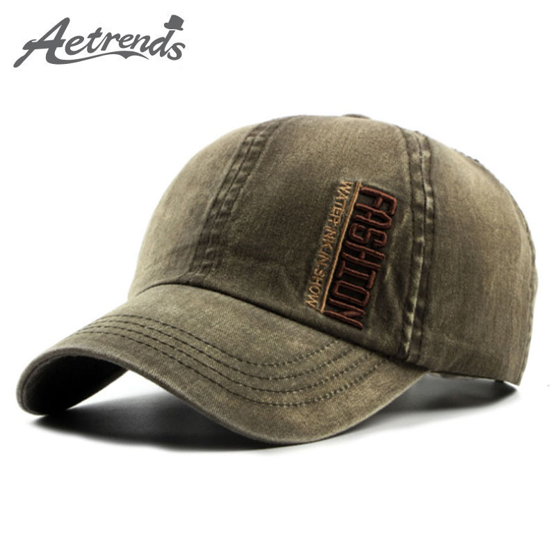 [AETRENDS] 2017 New Summer Baseball Cap Men or Women Hats Cotton Visor Caps Z-5229