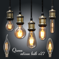 Ampoule vintage led edison light bulb e27 e14 220v led retro lamp 2w 4w 6w diy.jpg 250x250