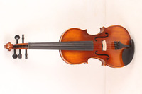 new 5 String 4/4 Electric Acoustic Violin yellow color #1 2511# what color do you like?