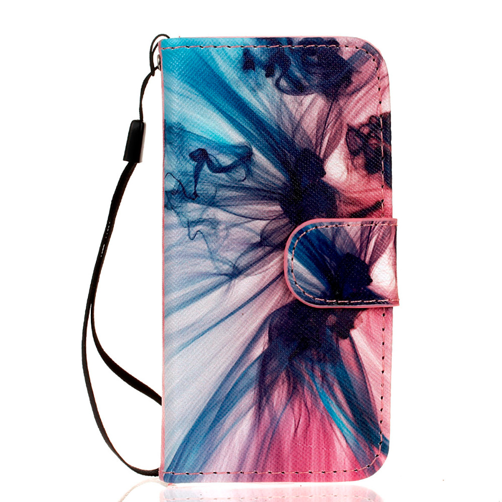 High Quality PU Leather Flip Case For iPhone 5S Mobile phone bag For iPhone 5/5S Premium Stand Phone Case With Card Slots