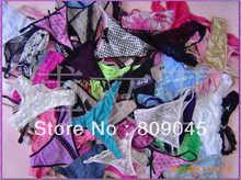 Sous vêtements sexy de style de couleur aléatoire, culotte/lingerie/pantalon string de style sous vêtement bikini, vêtements intimes, collection DZ0236 36pcs