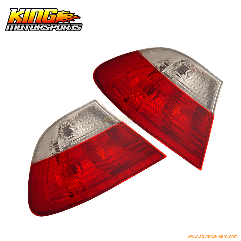 For 1999-2001 BMW 3 Series E46 2Dr Coupe Tail Lights Lamps Red Clear USA Domestic Free Shipping женская футболка hic 1 t t hic 5554
