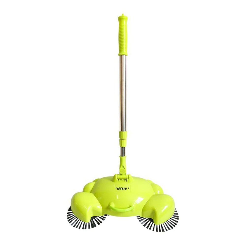 Household Floor Sweeping Machine Rotatable Cleaner Without Electricity Handheld Sweeper With Adjustable Handle Cleaning Tool tocool tc 350 smart robotic cleaner cordless sweeping cleaning machine ir avoidance sensor mopping tool